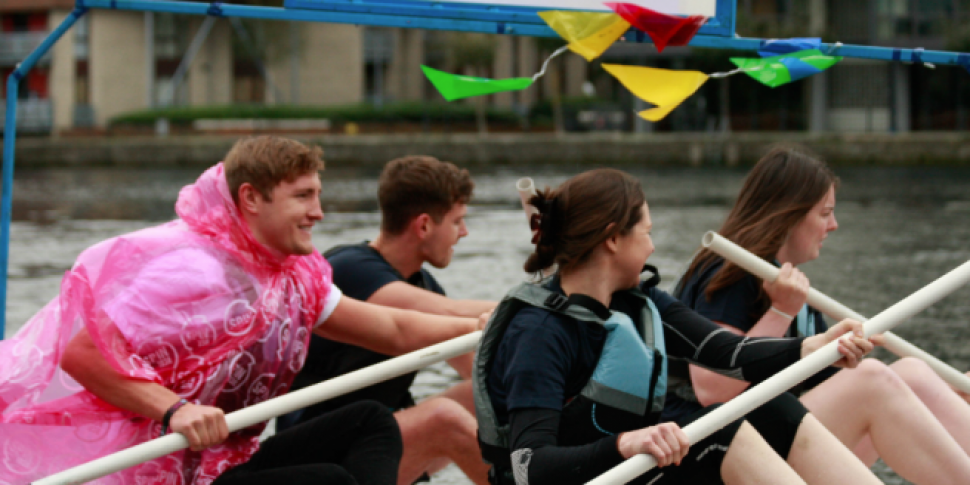 A Raft Race Against Homelessness Is Happening In Grand Canal Dock