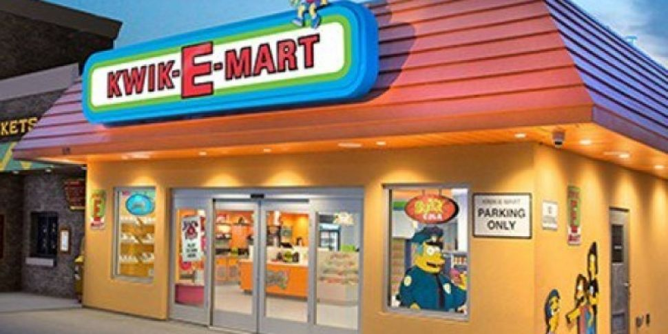 A Real Kwik-E-Mart Has Opened