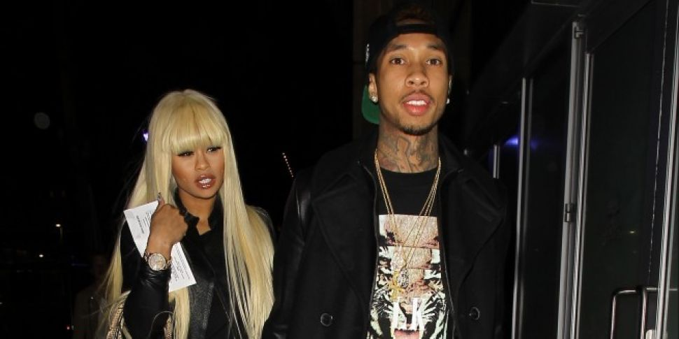 Blac Chyna & Tyga Reunite In New York 4 Years After They Split