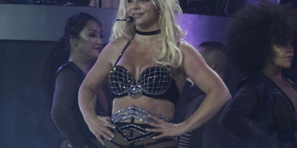 Rylan Joined Britney Spears On Stage At London Concert