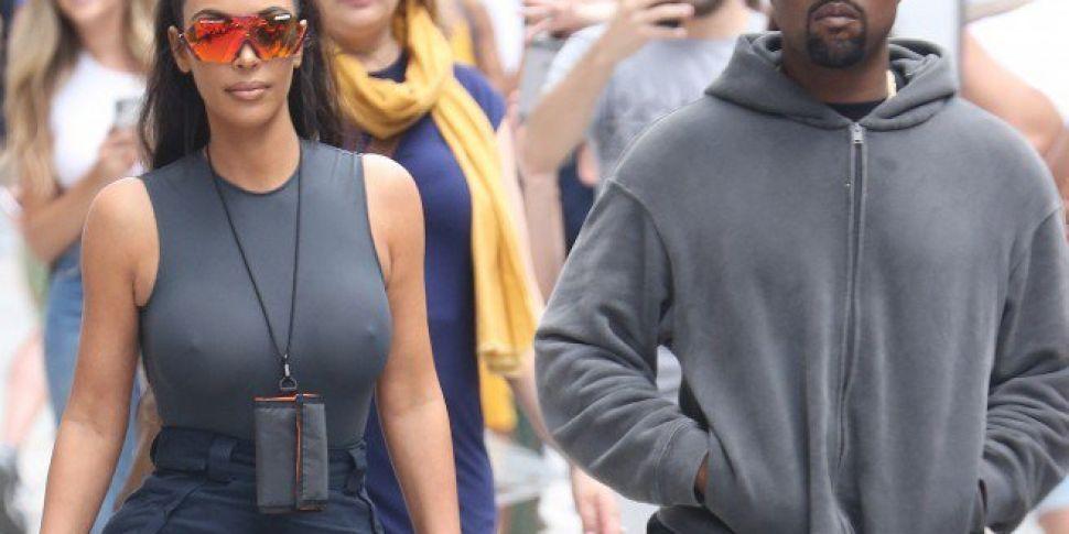 Kayne Responds To Claims Kim Cheated & Apologises To  Drake