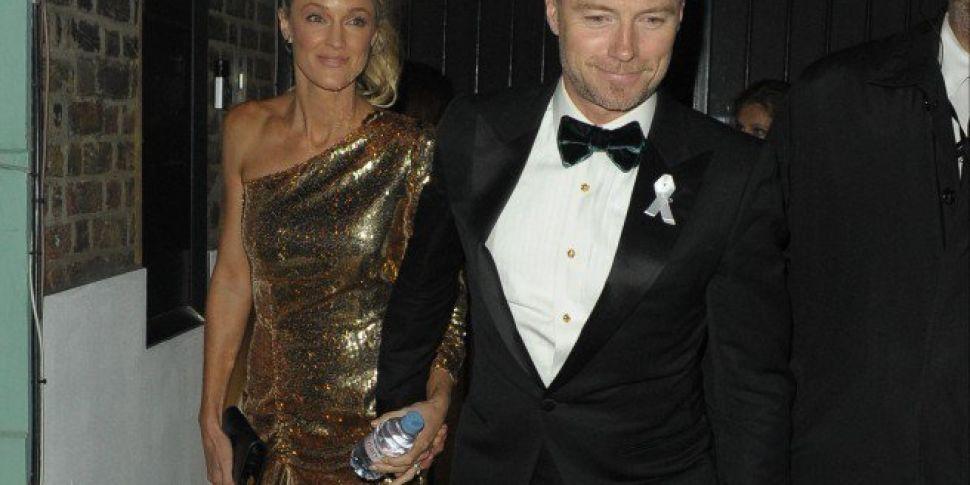 Ronan Keating Fuming Over British Actress At GQ Awards