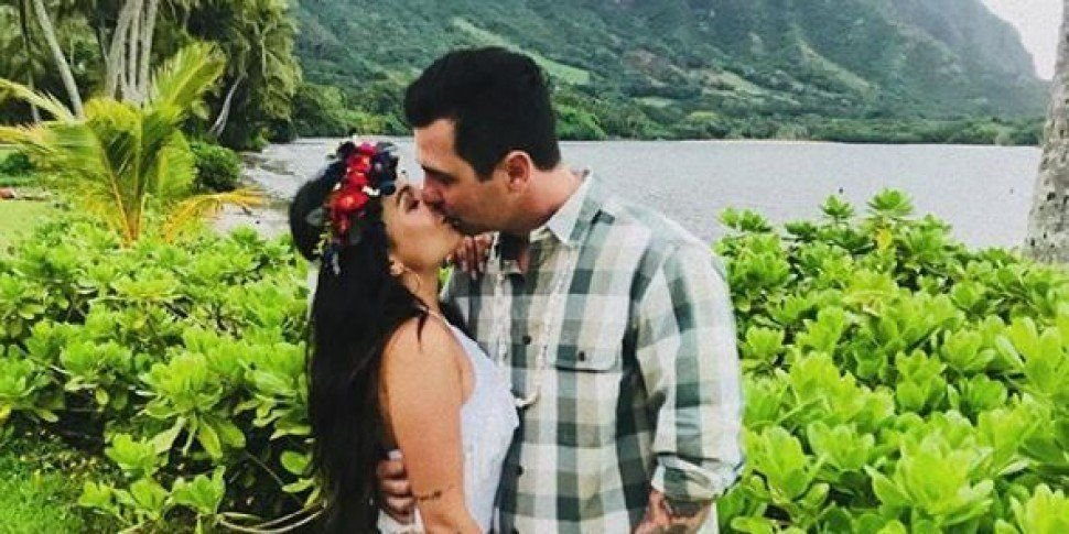 Pretty Little Liars Star Janel Parrish Marries Chris Long