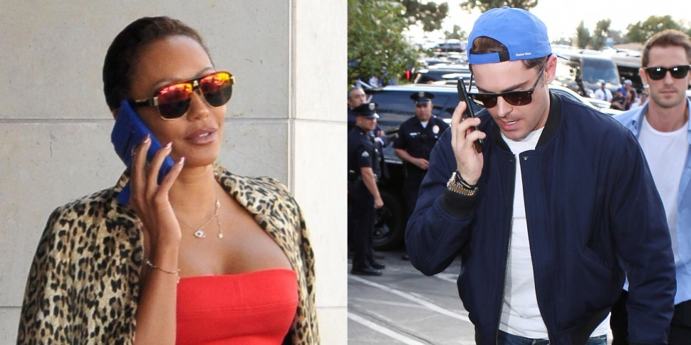 Zac Efron & Mel B Reportedly Had A 'Night Of Passion'