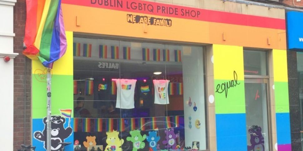 A Dublin Pride Pop Up Shop Opens Today
