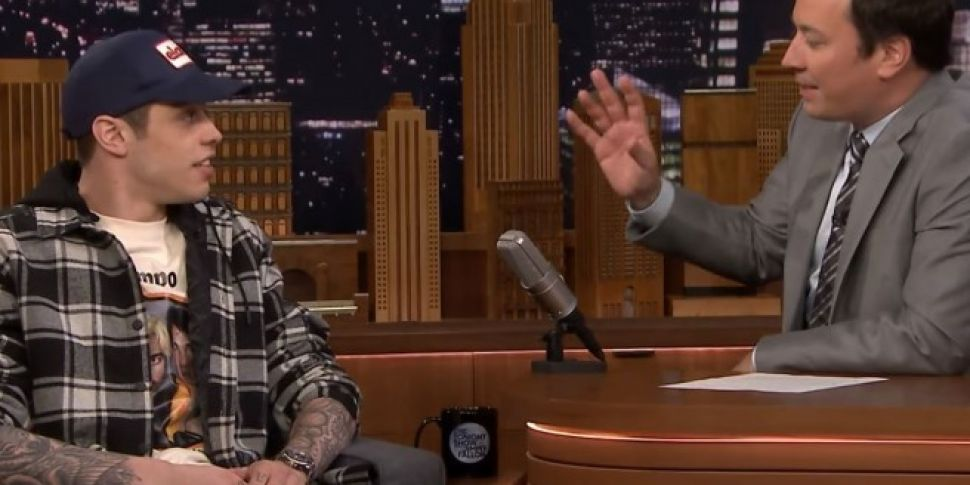 Pete Davidson Says Being Engaged To Ariana Grande Is 'Lit'
