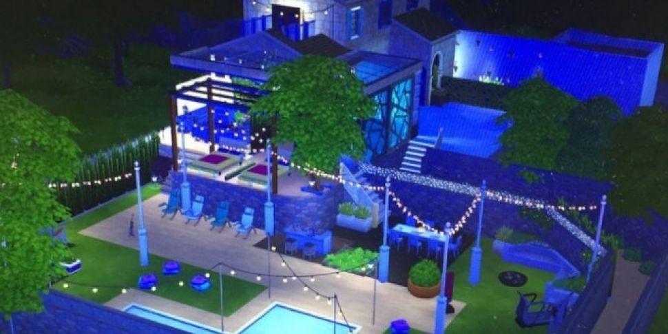 Love Island Fan Recreated The Villa On The Sims 4