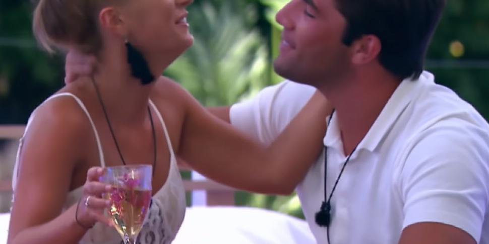 Jack's Ex On The Way Into The Love Island Villa