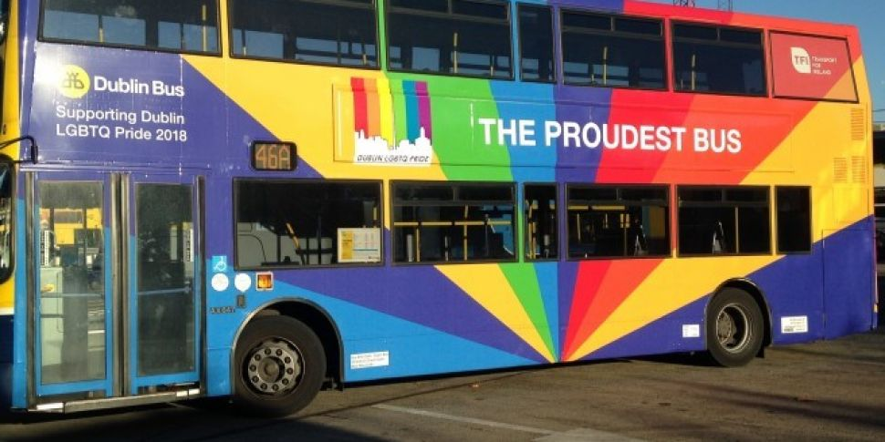 Dublin Bus Has Gone Multicolored For Pride 2018