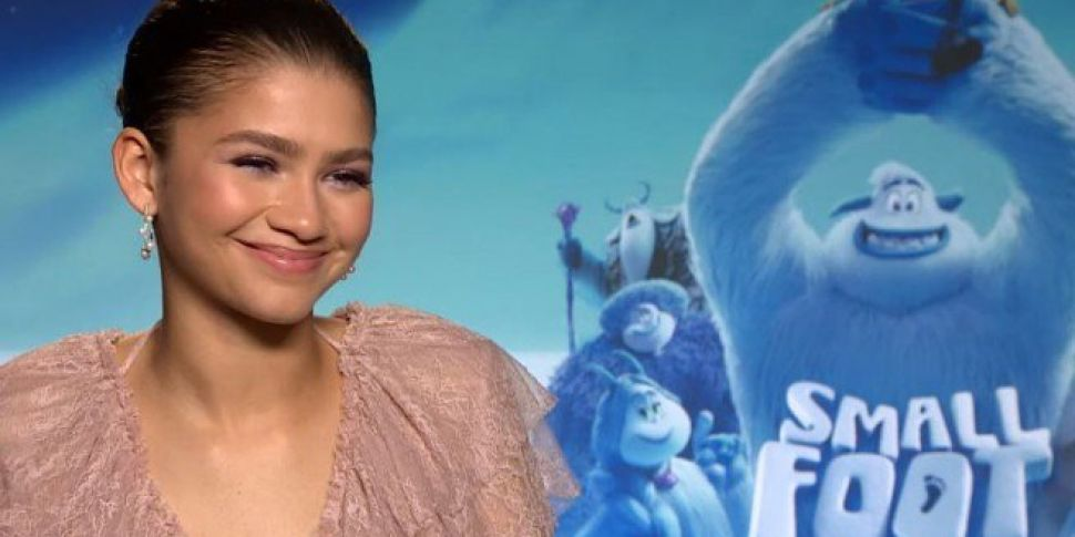 Zendaya Chats To Spin1038 About Her New Movie 'Smallfoot'