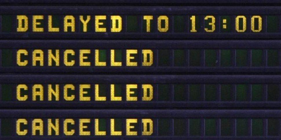 Flights Cancelled As Storm Ali Hits Ireland