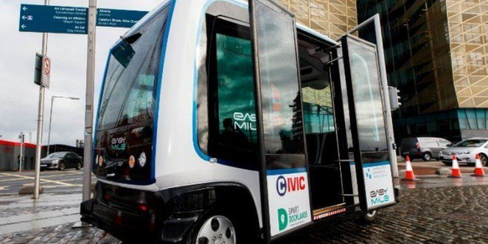 Ireland's First Driverless Bus Had A Test Drive Today