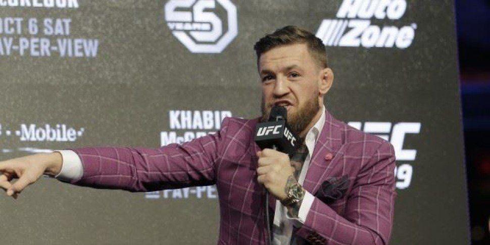 Conor McGregor Says His Dad Is 'Off His Head' Following Viral DART Video