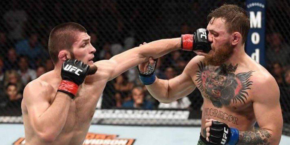 Chaos In Vegas As Khabib Nurmagomedov Defeats Conor McGregor