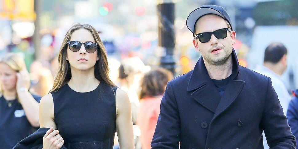 Patrick J Adams & Troian Bellisario Welcome First Child