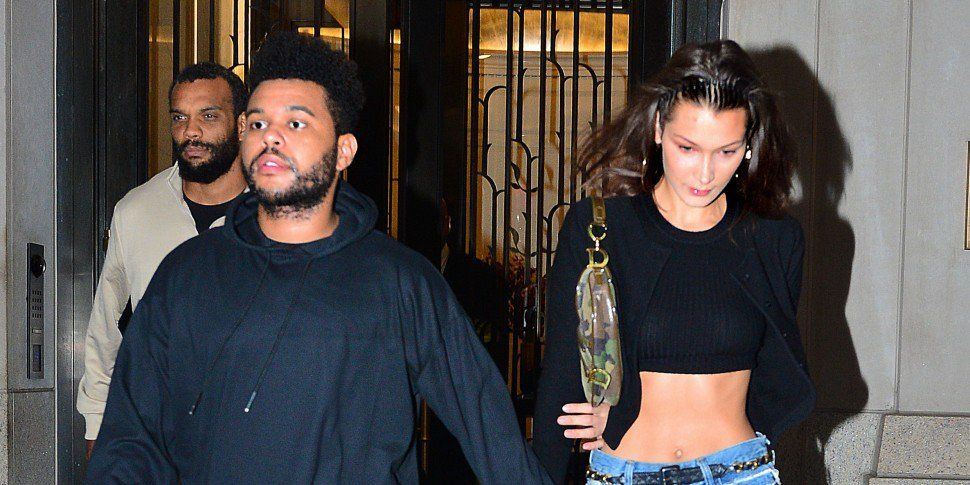The Weeknd Shares Loved-Up Snaps With Bella Hadid
