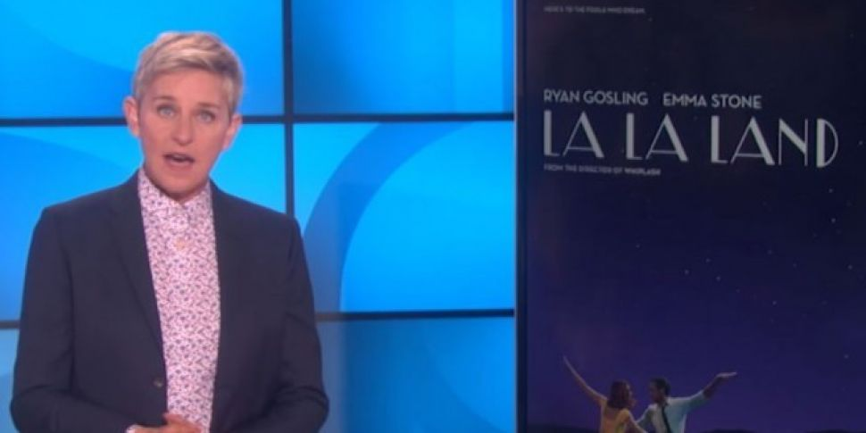 Ellen Re-enacts La La Land
