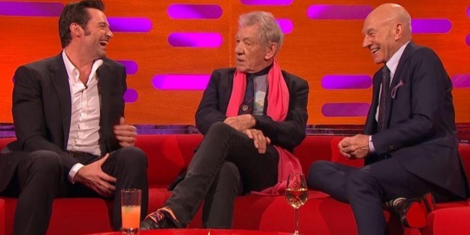 Hugh Jackman, Patrick Stewart...