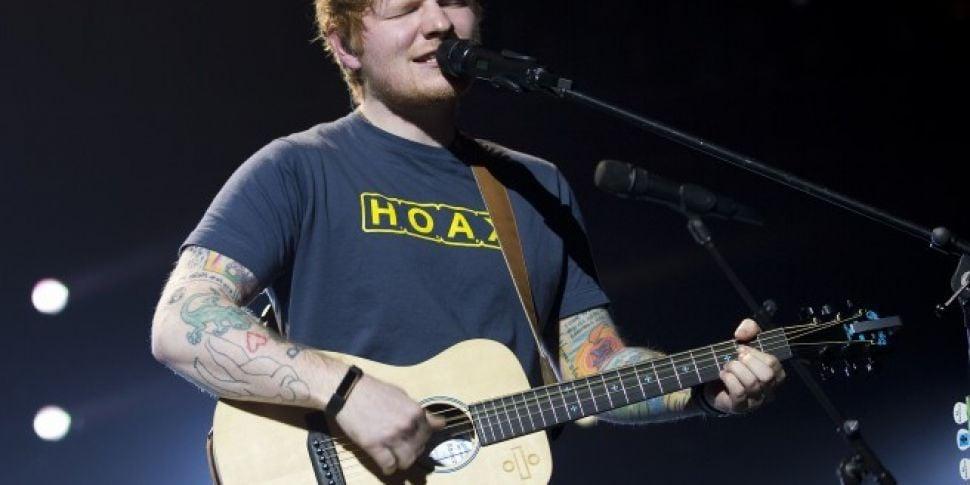WATCH: Ed Sheeran Drops Video...