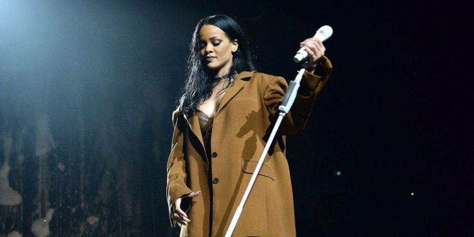 Rihanna Is Close To Finishing...