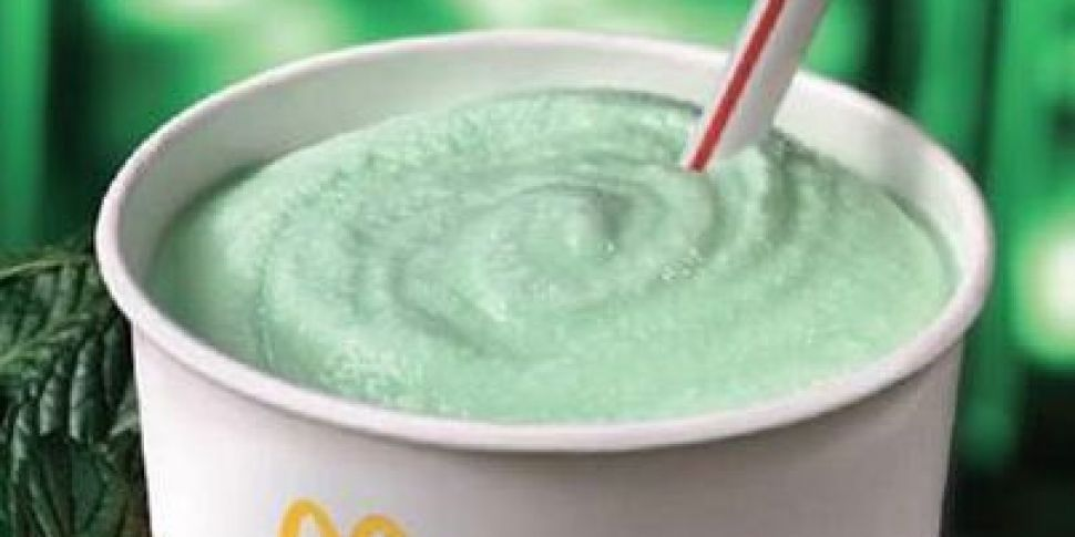 McDonald's Shamrock Shakes Are...