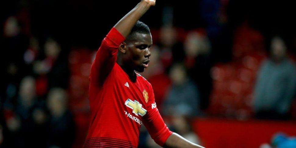 Paul Pogba named in PFA Team o...