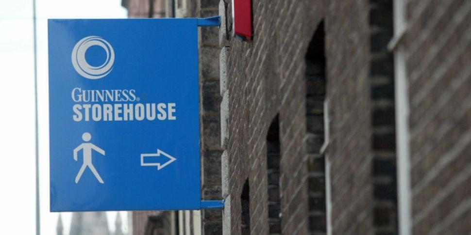 Guinness Storehouse Evacuated...