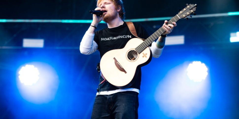 Watch: Ed Sheeran Music Video...