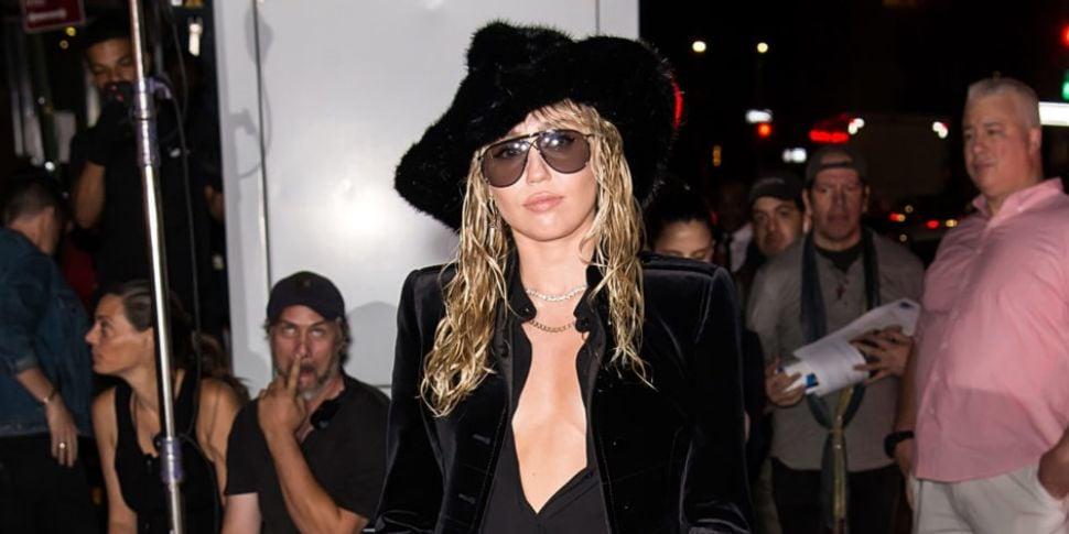 Miley Cyrus Seems To Imply Lia...