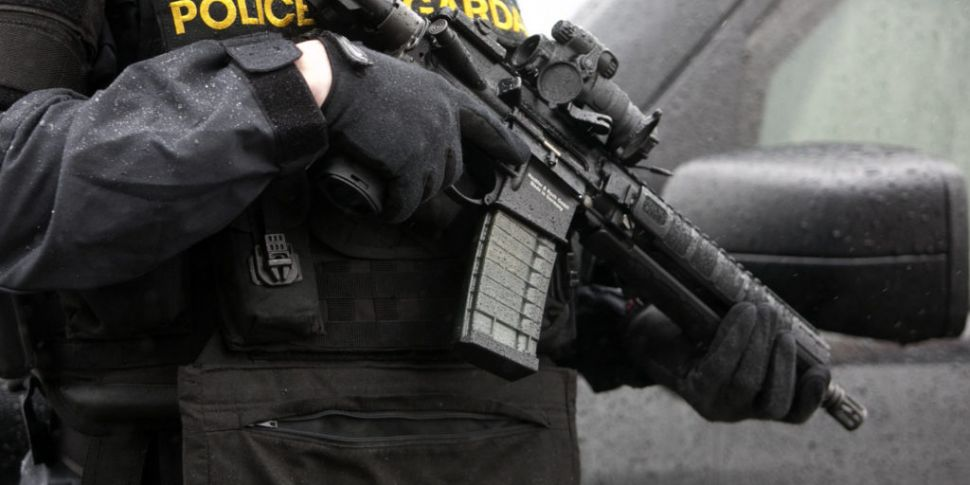 Number Of Gardaí Carrying Guns...