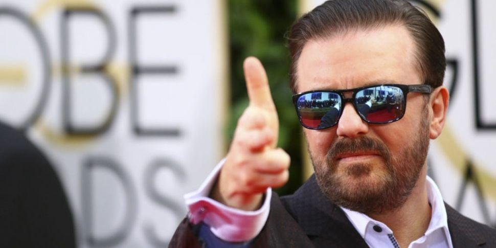 Ricky Gervais Announced For Du...
