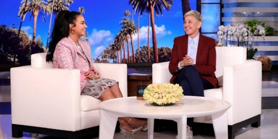 WATCH: Demi Lovato Talks About...