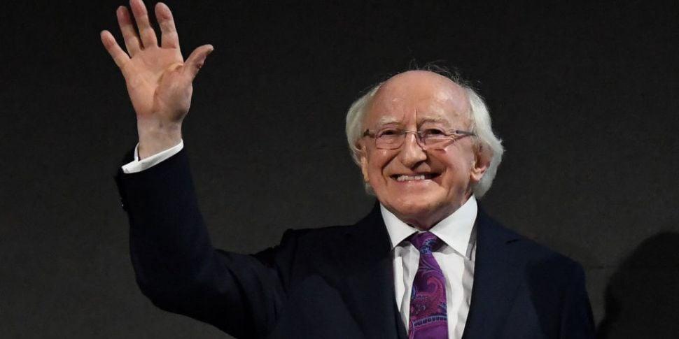 President Of Ireland Michael D...