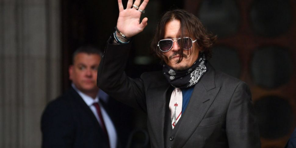 Johnny Depp Says He Couldn't H...