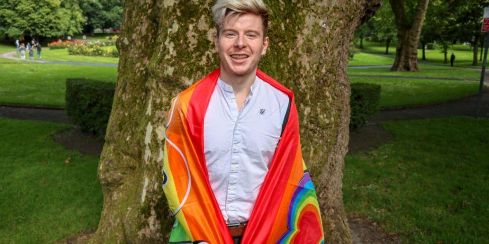 Mr Gay Ireland- Lorcan McAulif...