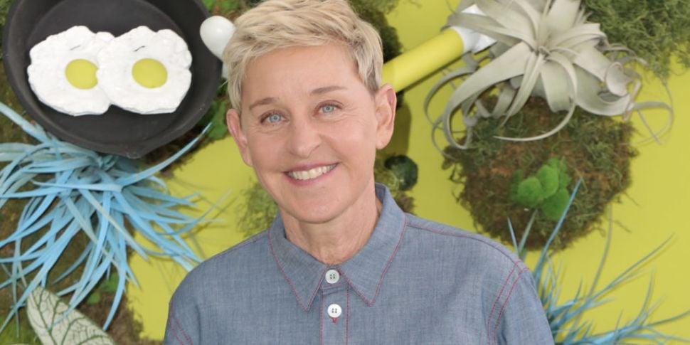 Ellen DeGeneres Addresses Work...