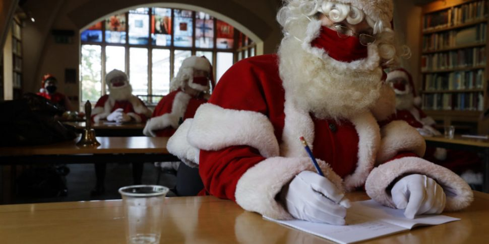 Santa's Covid-19 Training Gets...