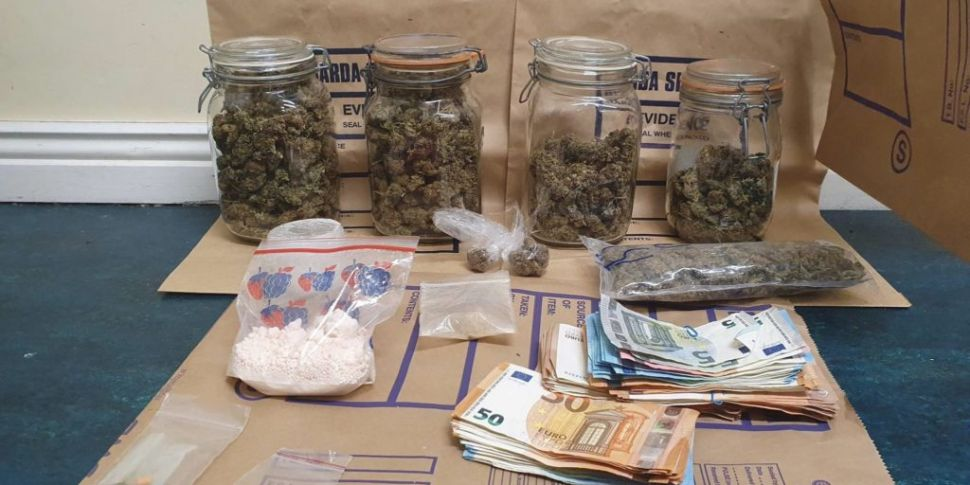 Over €20,000 In Drugs Seized I...