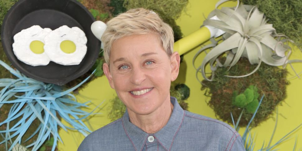 Ellen DeGeneres Reveals She's...