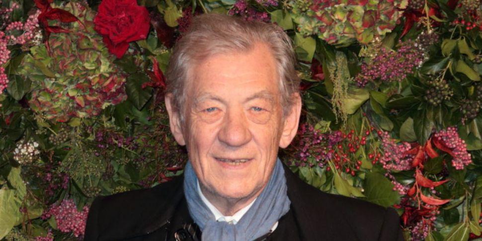 Sir Ian McKellen 'So Happy' Fo...