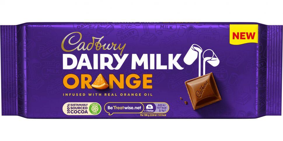 Cadbury Dairy Milk Orange Hits...