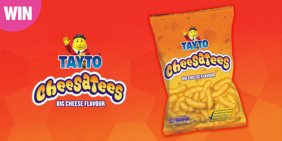 Win €100 and a Tayto Cheesatee...