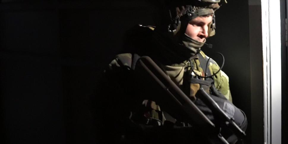 WATCH: Military Training Exerc...