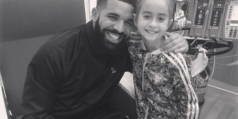 Drake Surprises Young Girl Awaiting Heart Transplant In Hospital On Her Birthday