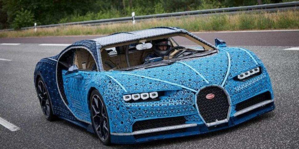 LEGO Has Built A Drivable Bugatti Using Over A Million Pieces