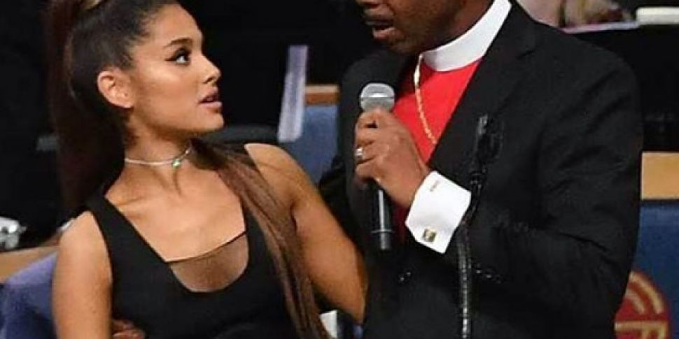 Ariana Grande Bishop Shares An Apology After 'Inappropriate Touching' At Aretha Franklin Funeral