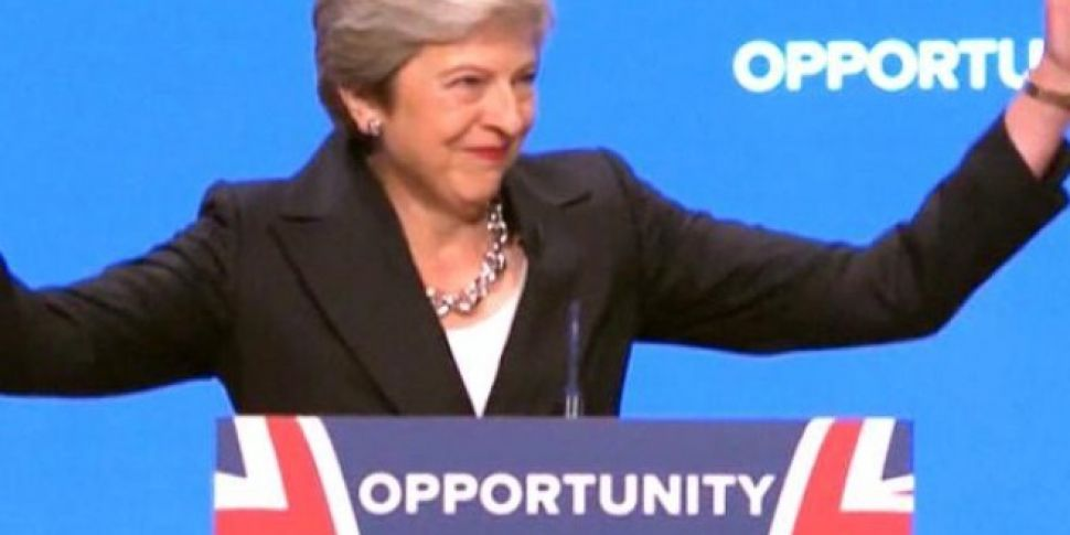 Theresa May Just Danced To Dancing Queen During Her Speech