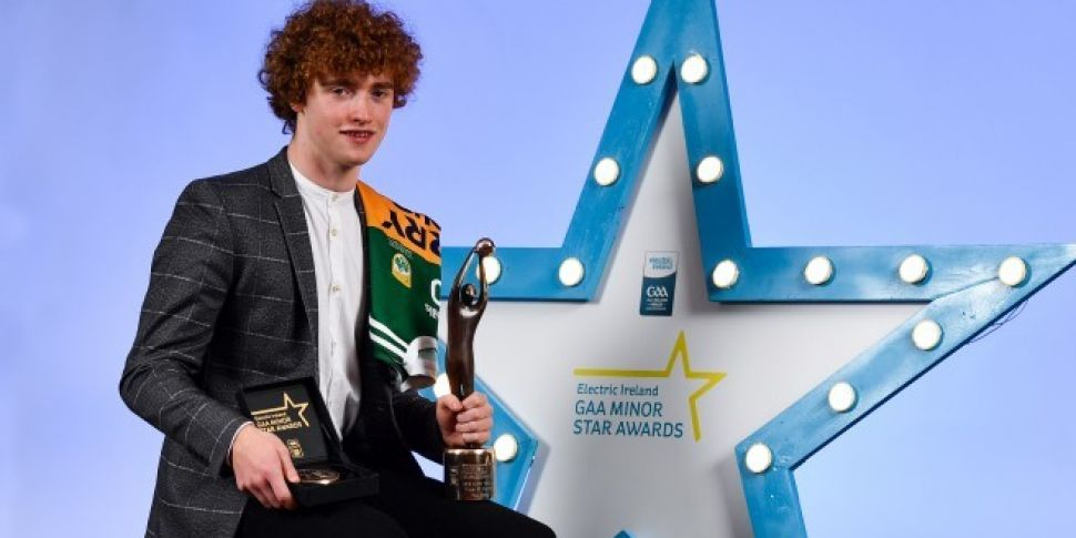 Kerry's Paul Walsh Named Electric Ireland Footballer Of The Year