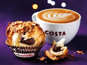 Costa Launch Nutella Cruffins