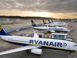 Ryanair Launches Seat Sale From €9.99